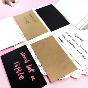 100pcs-Blank-Greeting-Card-Kraft-Paper-Blank-Postcards-DIY-Hand-Painted-Graffiti