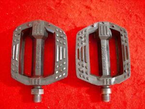 MKS-PB-20-Pedal-Pedals-Black-BMX-Japan-Used