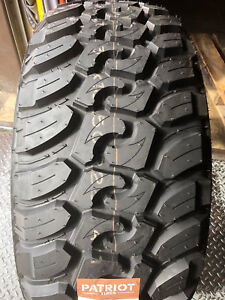 4 New 33x12 50r17 Patriot Mt Mud Tires M T 33125017 R17 1250 12 50