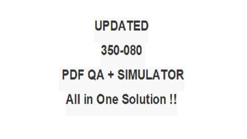 Cisco CCIE Data Center Written Test 350-080 Exam QA PDF/&Simulator