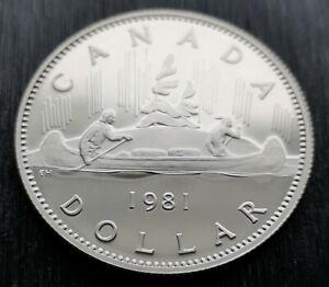 CANADA-DOLLAR-1981-PROOF-HEAVY-CAMEO