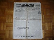 CICLISMO BISETTIMANALE N.42 5-7-1949 FAUSTO COPPI CIOLLI REISER ZBINDEN ASTRUA