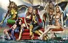 Greg Horn SIGNED EXCLUSIVE X-Men Art Print Rogue Emma Frost White Queen Psylocke
