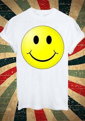 Smiley Face Funny Instagram Tumblr Fashion T Shirt Men Women Unisex 1721