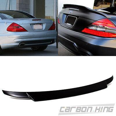 M-Benz 2003-2011 R230 SL500 SL550 SL600 SL63AMG Unpainted Trunk Spoiler