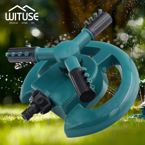 Mobile Automatic 360 Degree Rotating Spray Garden Lawn Sprinkler Irrigation 228