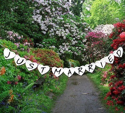 Wedding Bunting Banners Card Photo Prop - Wedding Decoration 15 Different Styles