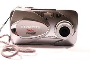Olympus-CAMEDIA-460-Zoom-4-0MP-Digital-Camera-Silver