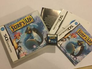 Details about NINTENDO DS DSL DSi XL GAME SURF'S UP +BOX & INSTRUCTIONS  COMPLETE