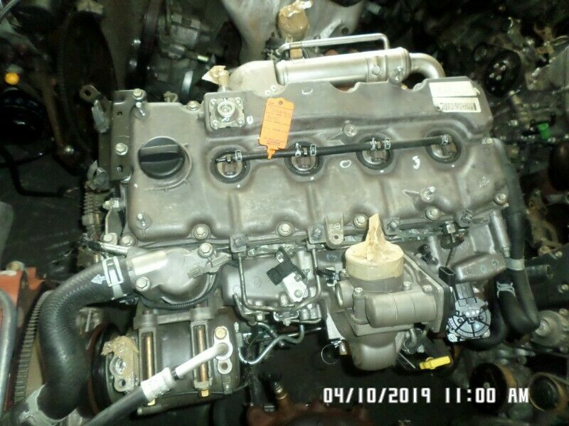 Isuzu 2.5 DTEC 4KJ1 engine for sale