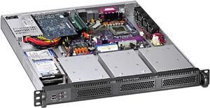 1U-300W-PSU-3x3-5-034-3x2-5-034-HDD-Bay-Rackmount-Chassis-Micro-ATX-ITX-Case-NEW