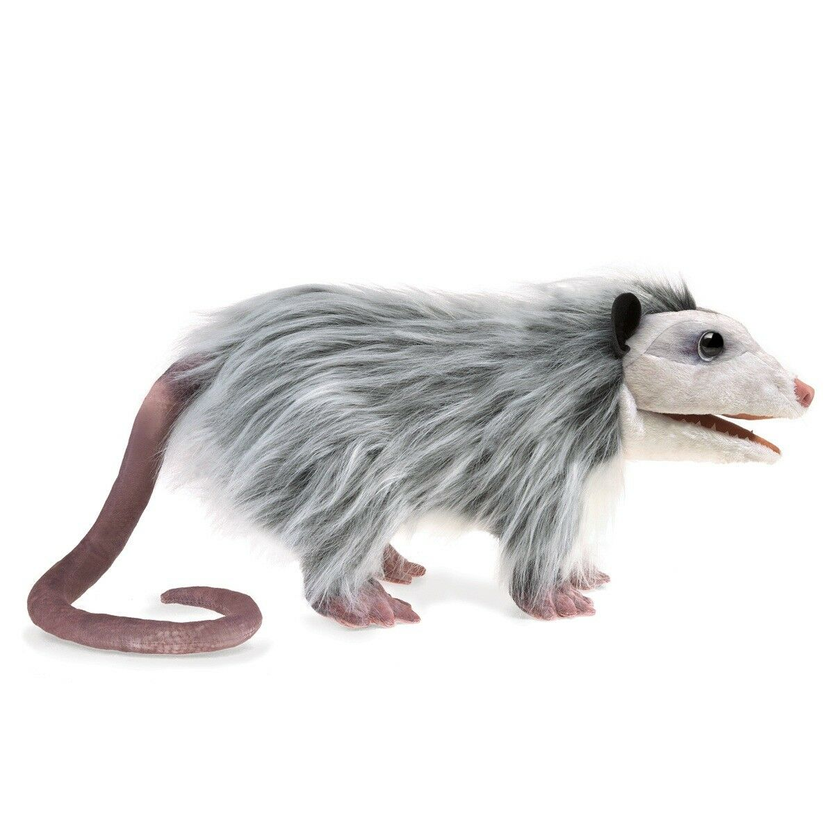 Opossum Hand Puppet with Movable Mouth & Forelegs by Folkmanis  MPN 3119 Unisex
