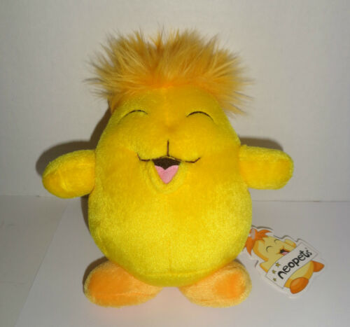 """Neo Pets Neopets Yellow Chia New w//tags Limited Edition Plush Toy 6.5/"""" 2002"""