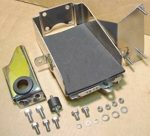 Battery Box Carrier Tray fits Harley Sportster XLH 67-78