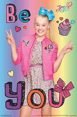 JOJO SIWA photo paper WALL STICKER WALL DECAL