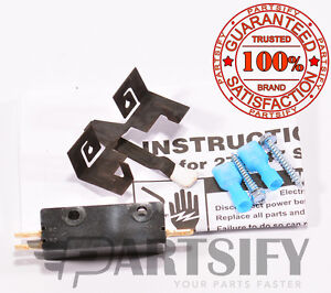 NEW 687429 DRYER DOOR SWITCH FOR WHIRLPOOL KENMORE SEARS MAYTAG KITCHENAID