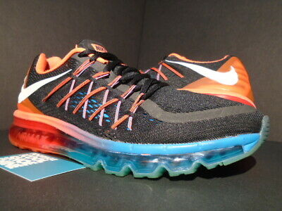 NIKE AIR MAX 2015 RUNNING VTSS SAMPLE BLACK WHITE BLUE ORANGE 1 95 698902 006 10 | eBay