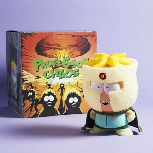 Loot Crate Exclusive South Park Professor Chaos Glow in the Dark Figure NEW