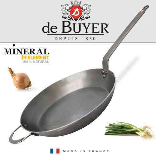 De Buyer-Minérale B Elément round fer poêle 32 CM