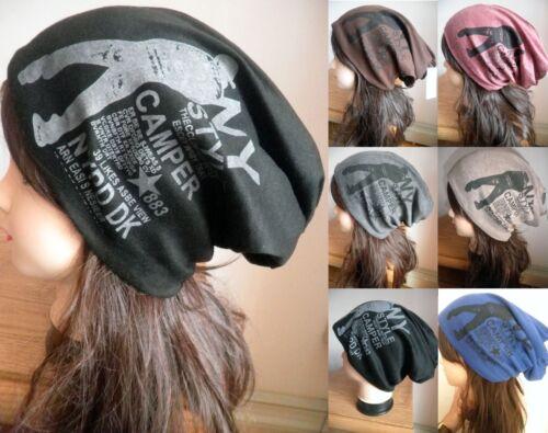 Men Wowen Winter Oversize Baggy Beanie Ski Unisex Hip Hop Slouchy Hat Cap Skull
