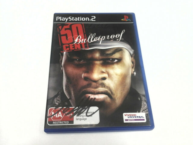 PS2 50 Cent: Bulletproof - AUTOGRAPHED by 50 CENT - New in Box