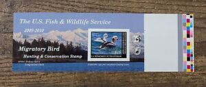 #RW76A 2009 - 2010 - US Federal Duck Stamp - with Gutter Margin!