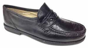 Roamers DERMOT Mens Casual Smart Lace Ups Leather Extra Wide Fit Shoes Black
