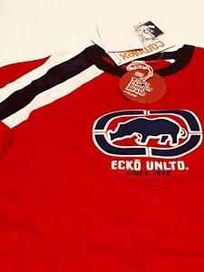 ECKO-UNLTD-S-S-034-Hi-Rev-034-Knit-Shirt-sz-L-Large-Men-039-s-Graphic-T-Tee-OOP-NEW-NWT