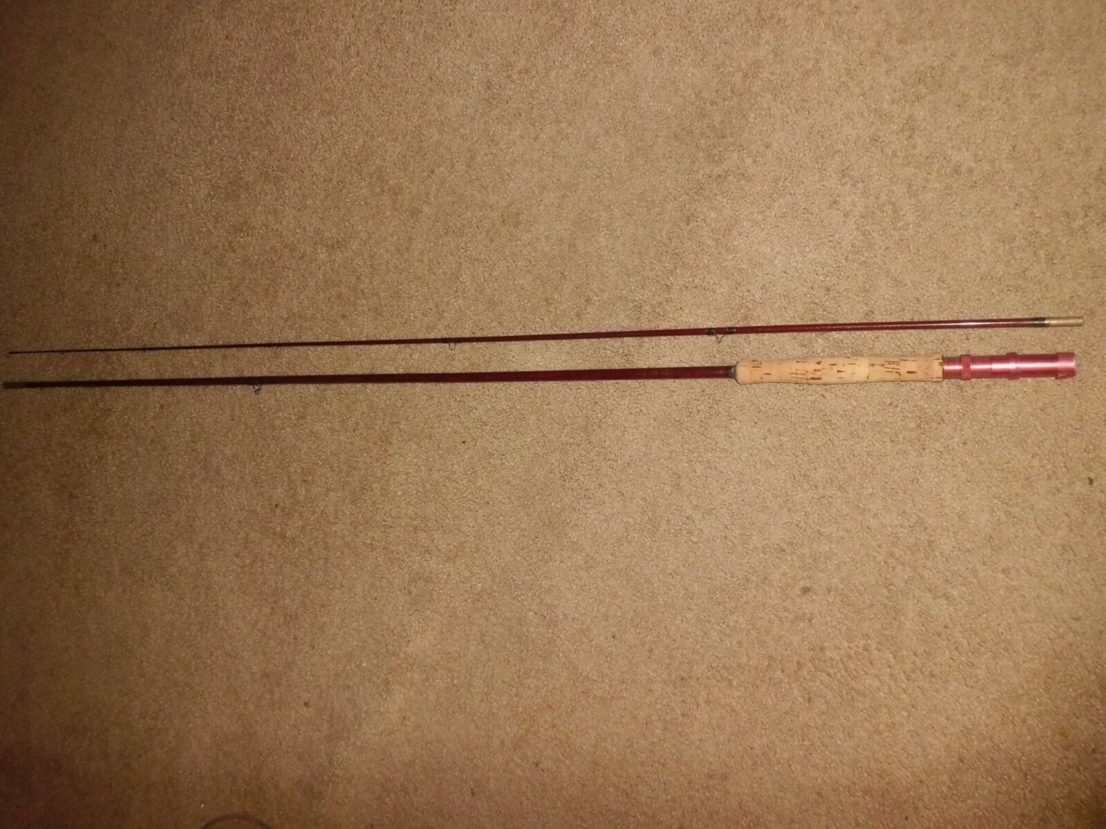 Vintage Phillipson S86 HCH Fiberglass 8'-6  Fly Rod made in USA