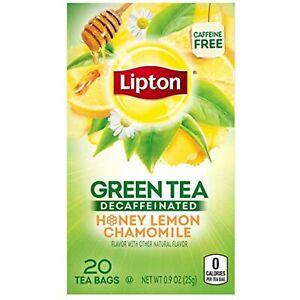 Lipton-Green-Tea-Bags-Decaf-Honey-Lemon-Chamomile-20-Count-Pack-Of-3