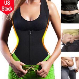 3f3db6f6ef Body Women Slimming Vest Cami Hot Shapers Neoprene Waist Trainer ...