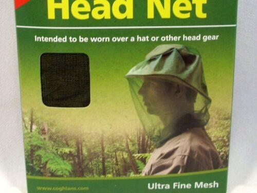Coghlan/'s No See-Um Head Net protection insecte Moustique Abeille chasse pêche Nouveau
