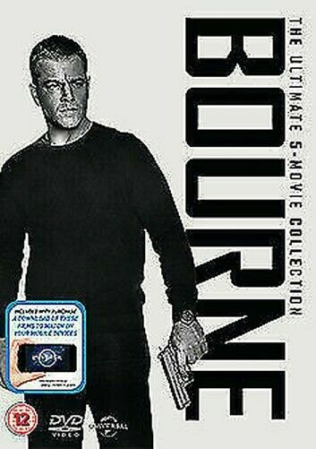Jason Bourne (5 Film) Collection DVD Nuovo DVD (8309612)