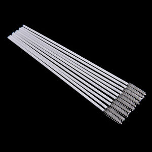 New-10pcs-Stainless-Steel-Straw-Reusable-Washable-Cleaner-Cleaning-Brush-New