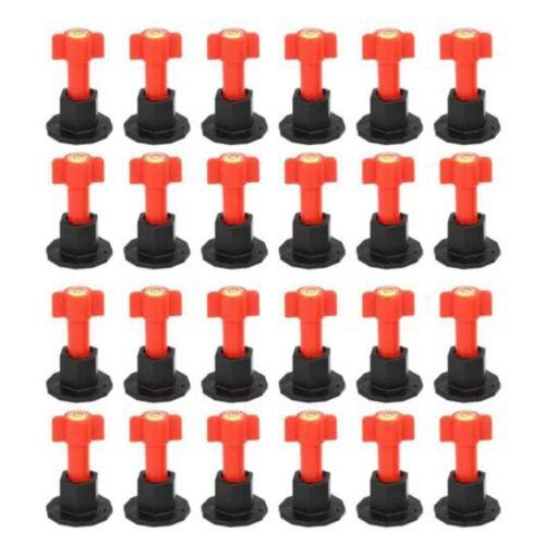 75pcs Reusable Anti Lippage Tiles Leveling System Locator Tool Kit Floor Wall