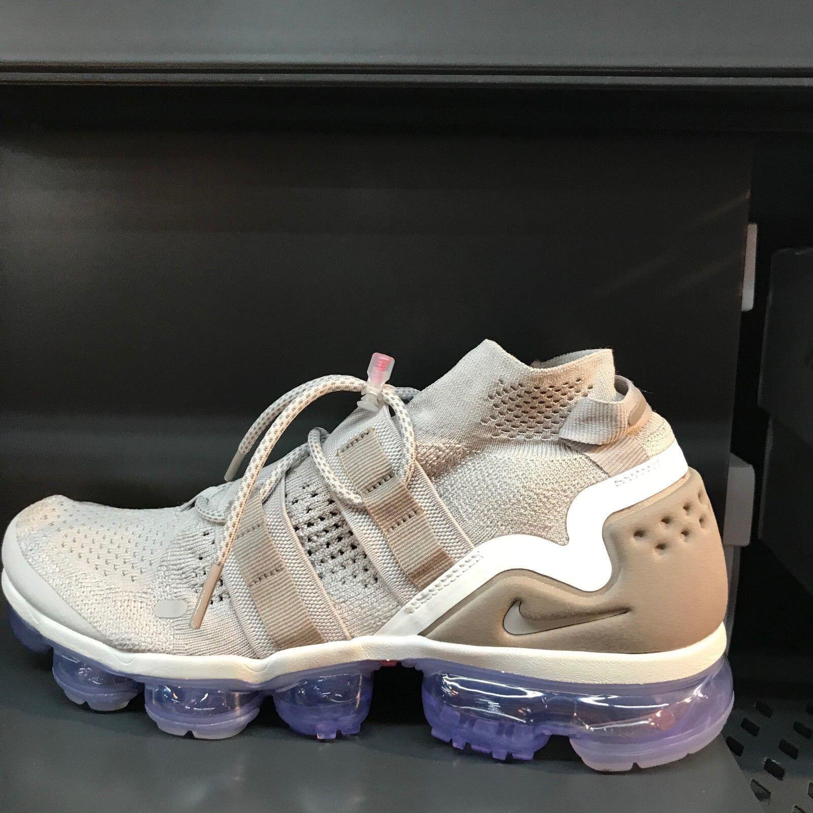 46a4e718e22 Nike Air Vapormax Flyknit FK Utility Moon Particle shoes AH6834-205 Size 7 -11