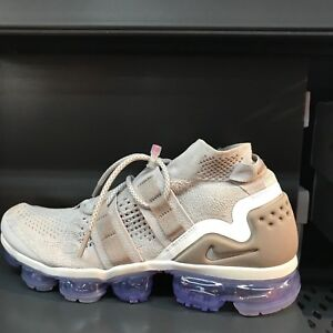 3458ccc72dd7 Nike Air Vapormax Flyknit FK Utility Moon Particle Shoes AH6834-205 ...