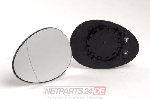 Neu ab Lager BMW Mini R55//56//57//58//59 10//06 Spiegelglas Außenspiegelglas links