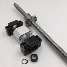 C7 Ballscrew SFU3210 RM3210 L1000mm Ball Screw&Ballnut&BK/BF25 End Support