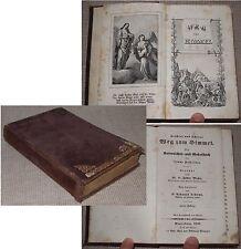 P. Isidor Moser LEICHTER UND SICHERER WEG ZUM HIMMEL Gebetbuch Einsiedeln 1845