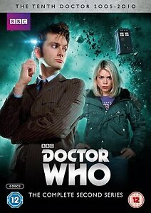 Doctor-Who-Series-2-The-10th-Temporada-2-Dos-Segunda-2nd-Dr-6-Disco