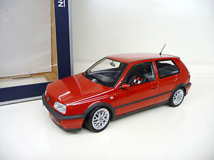 1-18-norev-vw-golf-3-III-GTI-rojo-Red-Limited-Edition-1000-nuevo-New