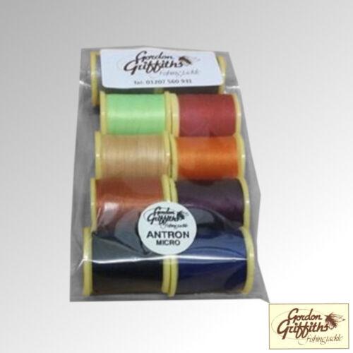Gordon Griffiths Thread Antron Micro Thread Mix Pack 10 Spools (ANTMICRO)