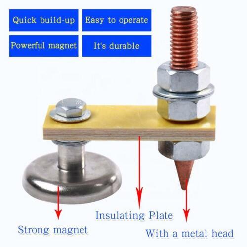 Erdungsblockklemme magnetischer Saugart Schweißen von magnetischer Masse