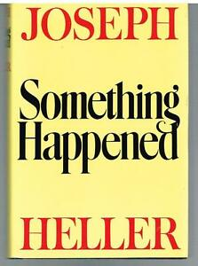 Something-Happened-by-Joseph-Heller-Stated-First-Edition-Rare-Book