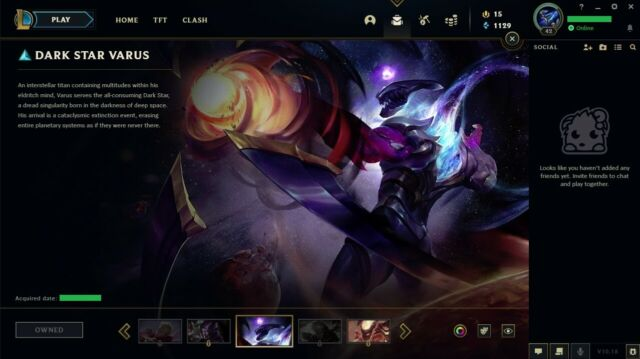 ✔️ League of Legends LOL Account EUNE 36 CH 7 SK 12 CH Shards EMAIL CHANGEABLE