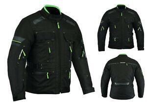 Motorcycle-Racing-Cordura-Men-jacket-Waterproof-With-Armored