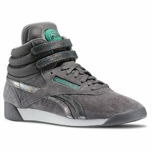 finest selection 8dfeb 6631f Image is loading Reebok-Freestyle-Hi-PUMP-Co-UP-Shoes-Trainers-