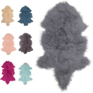 Super-Soft-Mongolian-Tibetan-Genuine-Luxury-Soft-Sheepskin-Rug-Rugs-Hide-Pelt