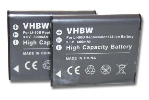 2x cámara acu batería 600mah para kodak PixPro sl10 Smart lens fz201